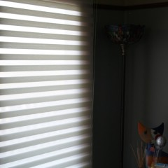 Horizontal sheerlight blind