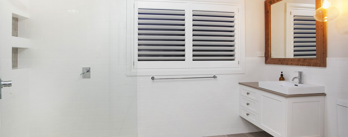 Woodbury Waterproof ABS Shutter for Ensuite
