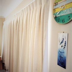 Box Pleat Curtain.